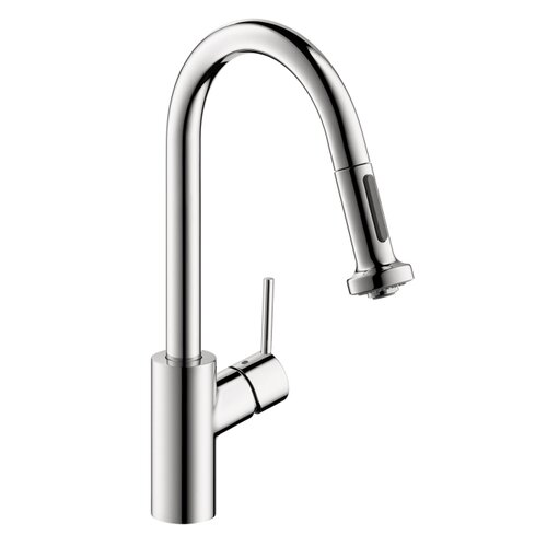 Talis S 2 One Handle Single Hole Kitchen Faucet with Full and Needle Sprays