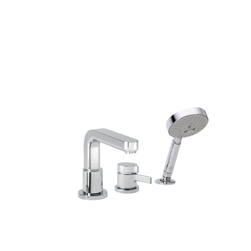 Hansgrohe Metris S Trim Three Hole Thermostatic Bath Tub Faucet