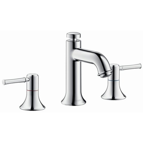 Hansgrohe Talis Classic Widespread Bathroom Faucet with Double Lever Handles