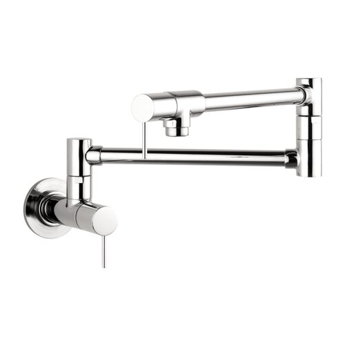 Axor Starck Double Handle Wall Mounted Pot Filler Faucet