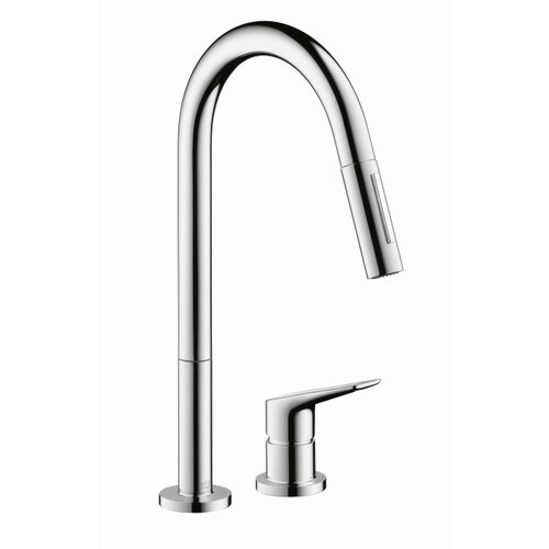 Axor Citterio M Single Handle Widespread Kitchen Faucet