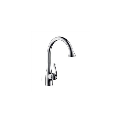 Allegro Gourmet One Handle Single Hole Kitchen Faucet with 10.25