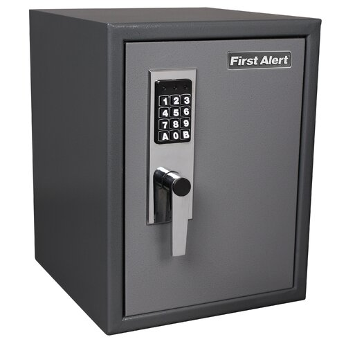 Insulated Digital Dial Lock Anti-Theft Safe [1.2 CuFt]