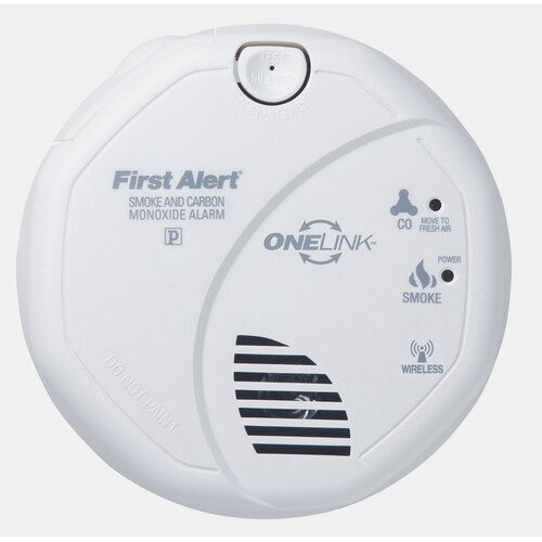 First Alert OneLink Enabled Smoke and Carbon Monoxide Alarm