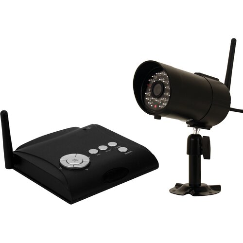 First Alert 4 Channel Wireless Indoor/Outdoor Security System