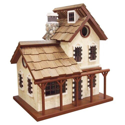 The Queen's Hamlet Garden Cottage Free Standing Birdhouse