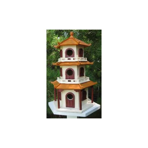 Home Bazaar Signature Pagoda House Birdhouse