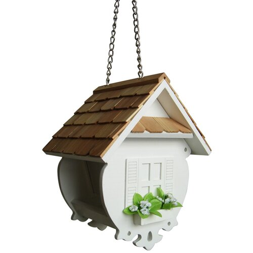 Home Bazaar Fledgling Series Decorative Hopper Bird Feeder