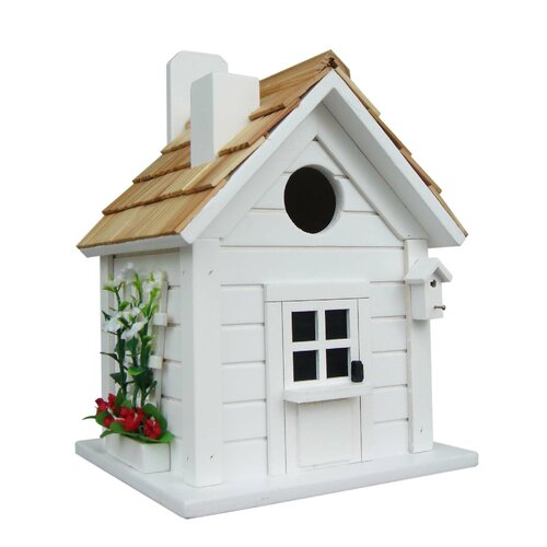 Nestling Series Trellis Cottage Mounted Birdhouse