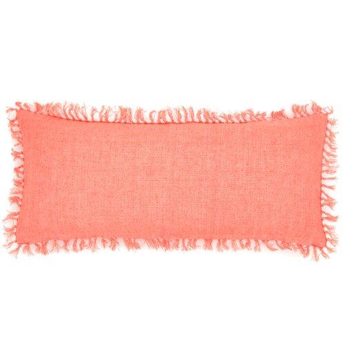 Laundered Linen Decorative Pillow