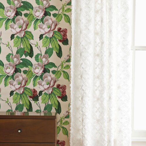 Pine Cone Hill Candlewick Cotton Rod Pocket Curtain Single Panel