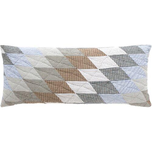 Blanket Patchwork Quilt Double Boudoir Pillow