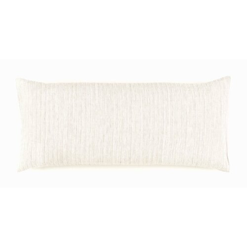 Pinstripe Linen Boudoir Pillow