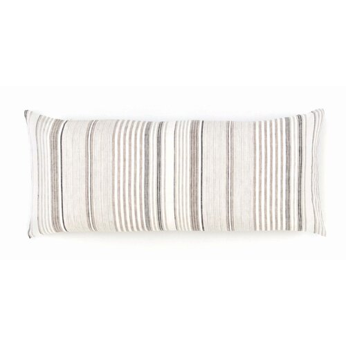 Gradation Linen Double Boudoir Pillow