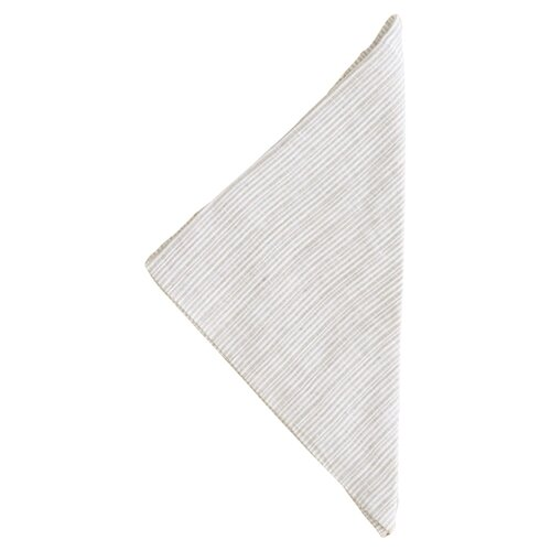 Pine Cone Hill Pinstripe Linen Napkins (Set of 4)