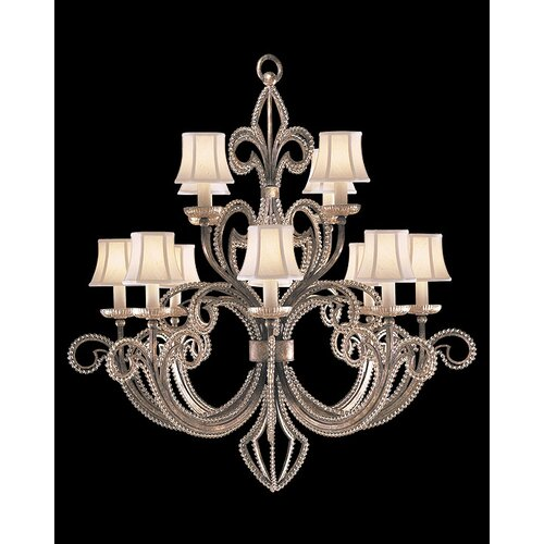 Fine Art Lamps A Midsummer Nights Dream 12 Light Chandelier