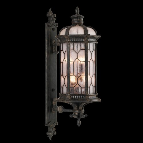 Fine Art Lamps Devonshire 1 Light Outdoor Wall Lantern