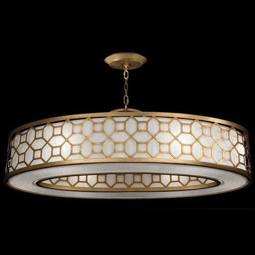 Fine Art Lamps Allegretto 6 Light Drum Pendant