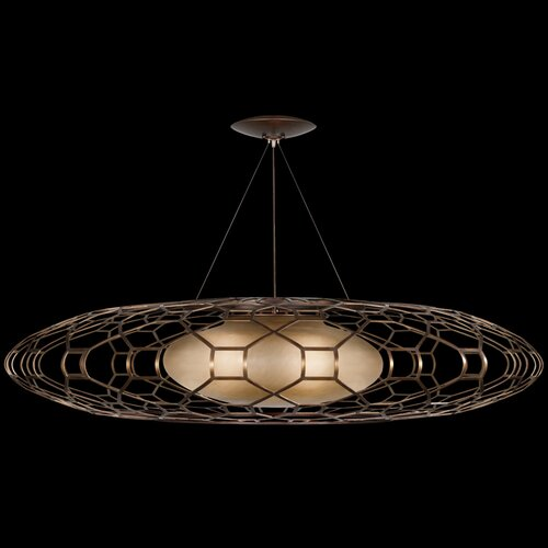 Fine Art Lamps Entourage 3 Light Pendant