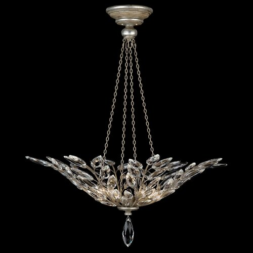 Fine Art Lamps Crystal Laurel Inverted Pendant