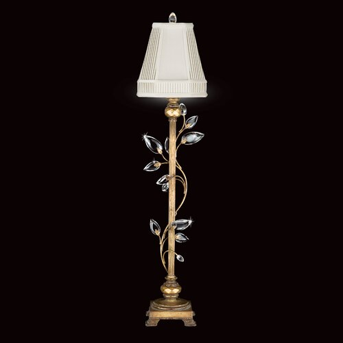 "Fine Art Lamps Crystal Laurel 37"" H 1 Light Table Lamp"