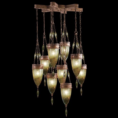 Fine Art Lamps Scheherazade 9 Light Pendant