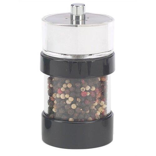 Rita 4.6'' Black Salt Shaker - Pepper Mill Combo
