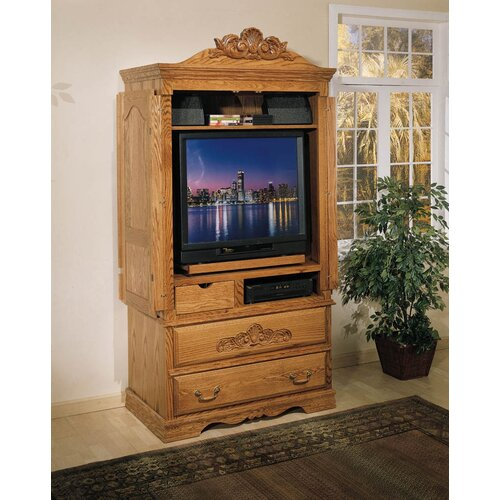 Country Heirloom Large TV Armoire