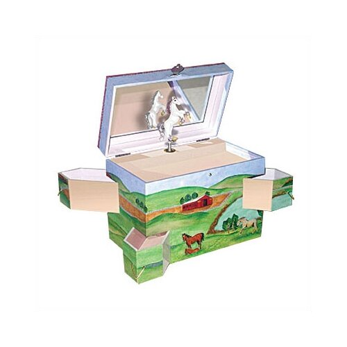 Enchantmints Hide Away Horse Treasure Jewelry Box