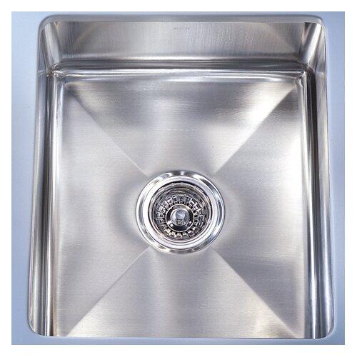 """Franke Professional 14.56"""" x 19.5"""" Under Mount Kitchen Sink"""