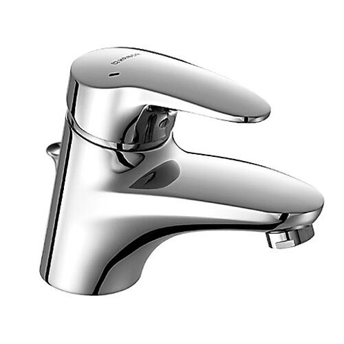 Hansa Hansamix Single Hole Bathroom Faucet with Single Handle