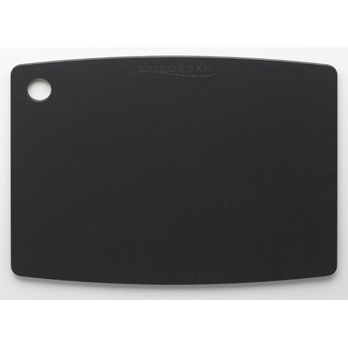 Top Gourmet 38.1 cm x 27.94 cm Chopping Board in Black