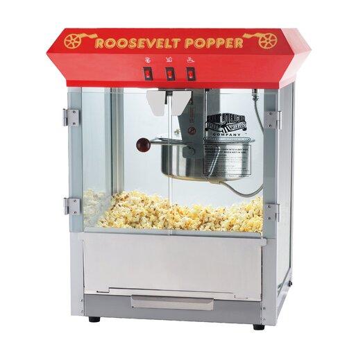 Great Northern Popcorn 8 oz Roosevelt Antique Popcorn Machine