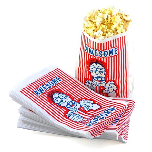 Great Northern Popcorn Movie Theater Popcorn Bags (Set of 200)