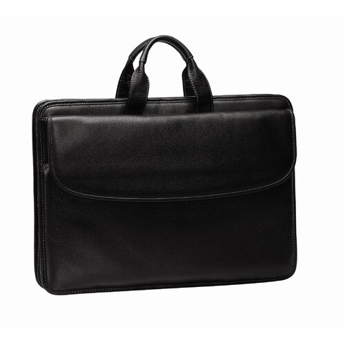 Johnston & Murphy J & M Portfolio Laptop Briefcase