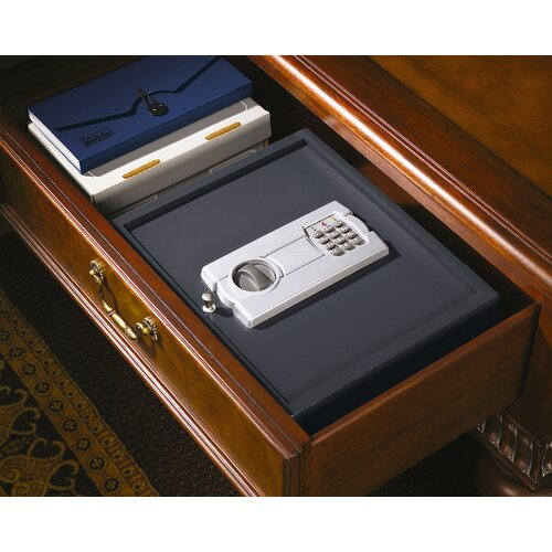 Stack-On Strong Box Electronic Lock Drawer / Wall Safe