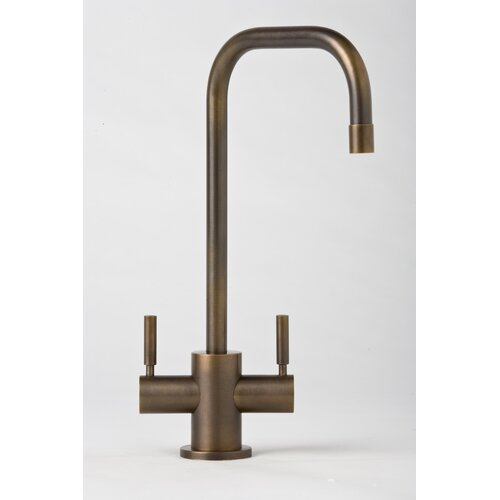 Waterstone Fulton Two Handle Single Hole Bar Faucet with Lever Handle