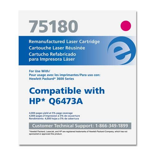 Elite Image Print Cartridge, 4000 Page Yield, Magenta