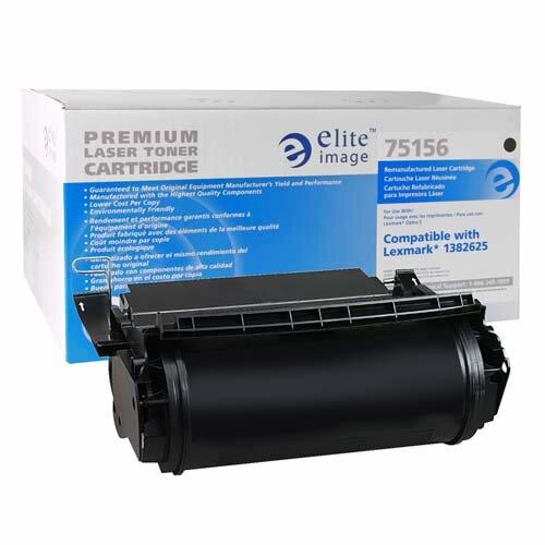 Elite Image Laser Toner Cartridge, 17600 Page Yield, Black