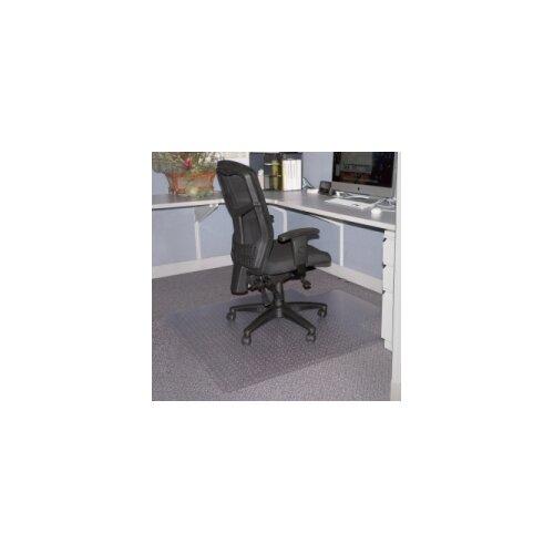 Lorell Economy Weight Beveled Edge Chair Mat