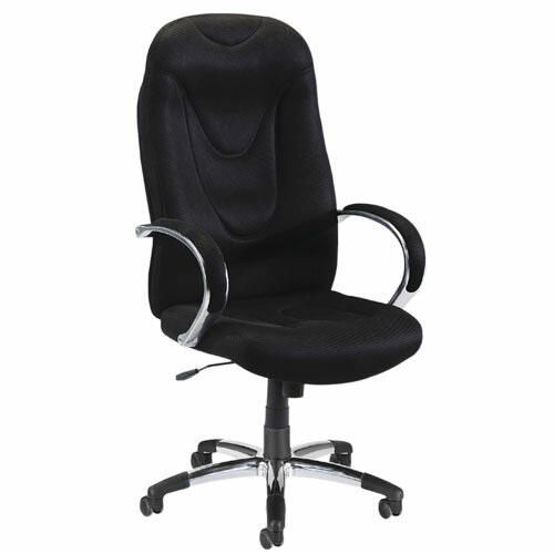 Lorell Airseat Series High-Back Executive Chair with Arms