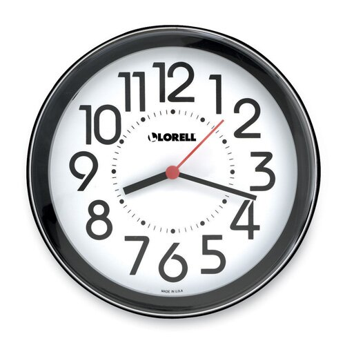 "Lorell 9"" Wall Clock"