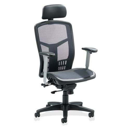Lorell High Back Mesh Office Chair With Arms Reviews Wayfair