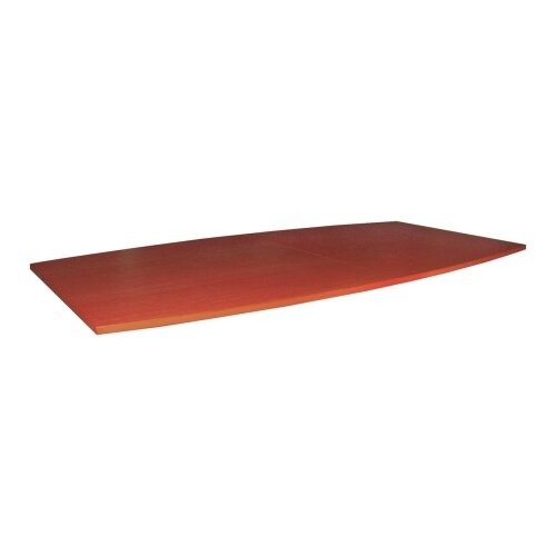 "Lorell Boat-Shaped Tabletop, 48""x96""x1-1/4"", Cherry"