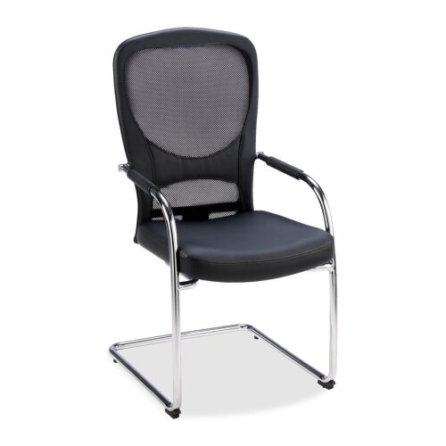 Lorell Guest Chair with Sled Base