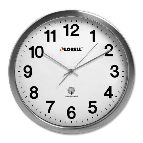 "Lorell 11.8"" Atomic Wall Clock"