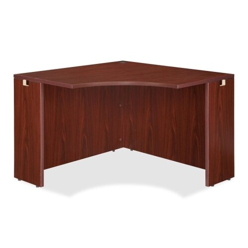 Lorell High-Quality Laminate Corner Desk