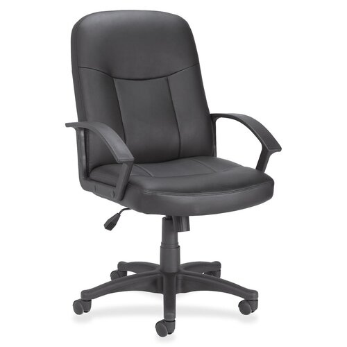 Mid-Back Bonded Leather Managerial Chair