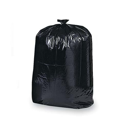 Genuine Joe 42 Gal Contractor Cleanup Trash Bags, Black