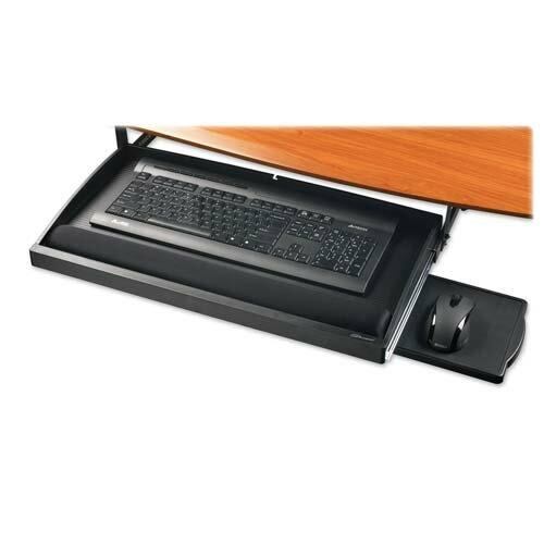 Compucessory Compucessory Underdesk Keyboard Drawer, Black